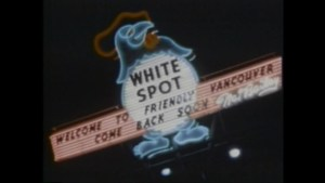 Squire Barnes on the 90th anniversary of White Spot